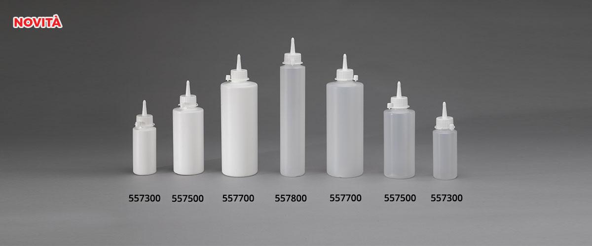 Bottiglie serie 557 spalla piatta