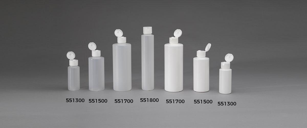 Bottiglie serie flip-top spalla piatta