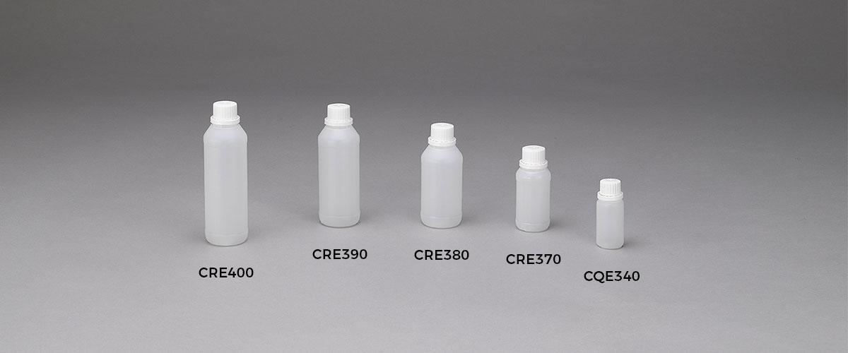 Bottiglie cilindriche serie cre piccole