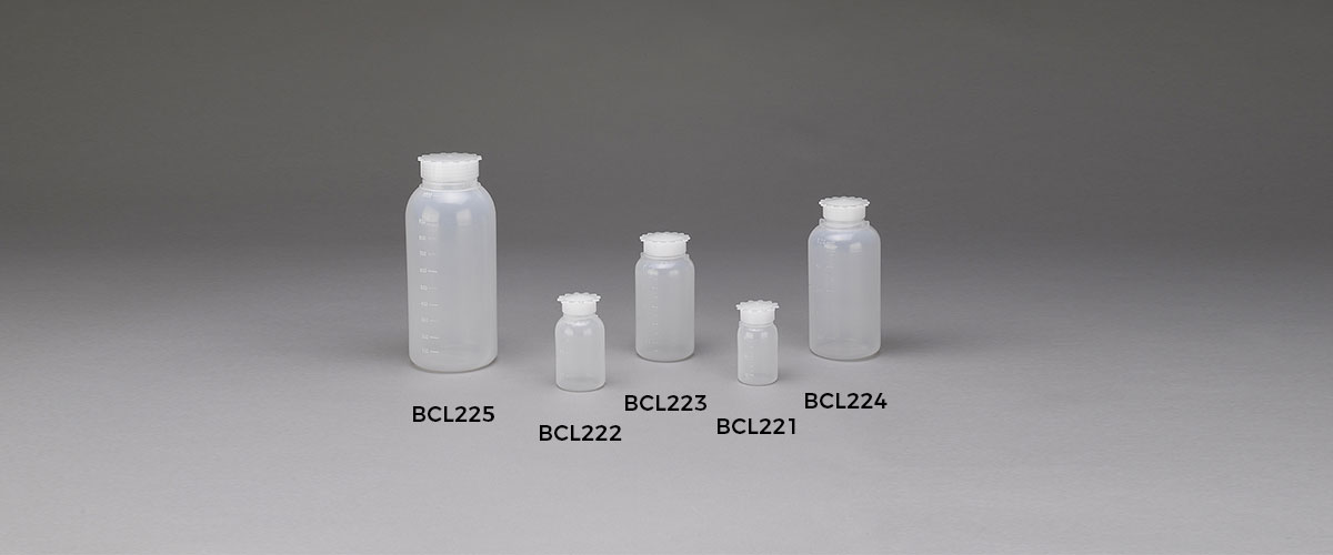 Bottiglie laboratorio bcl