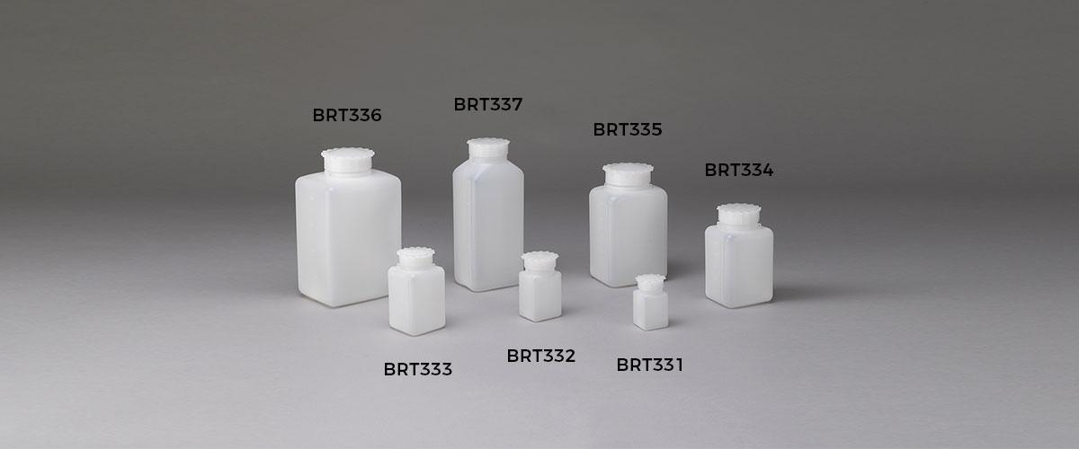Bottiglie laboratorio brt