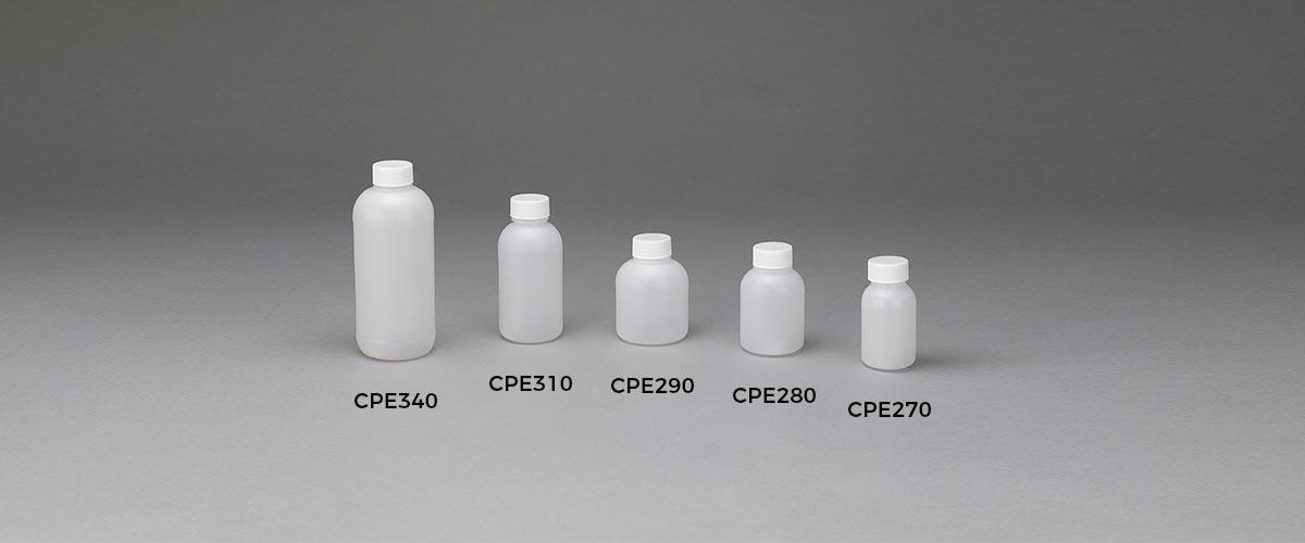Bottiglie laboratorio serie cpe